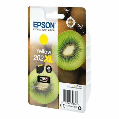 Epson T202XL Yellow Original Blækpatron Høj Kapacitet Epson Expression Premium XP 6000 | InkNu
