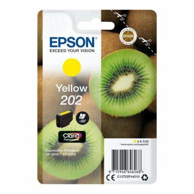 Epson T202 Yellow Original Blækpatron Standard Epson Expression Premium XP 6000 | InkNu