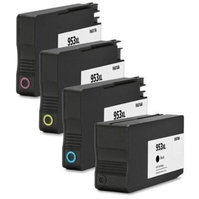 HP 953XL 4 stk Kompatibel Multipack – 128ml HP OfficeJet Pro 8210 | InkNu