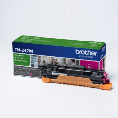 Brother TN247 Magenta Original Toner 2.300 Sider Brother DCP-L 3510 | InkNu