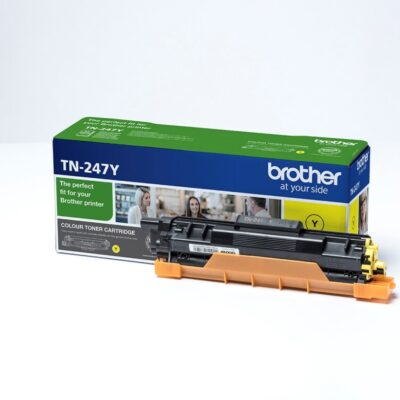 Brother TN247 Yellow Original Toner 2.300 Sider Brother DCP-L 3510 | InkNu