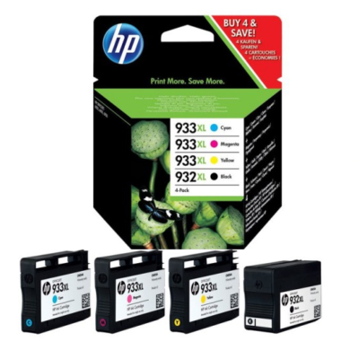 HP 932XL/933XL Combo-Pack Original HP OfficeJet 6600 | InkNu