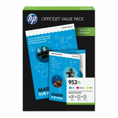 HP 953XL CMY Office Value pack Original (UDGÅET) HP OfficeJet Pro 8710 | InkNu