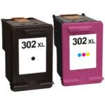 HP 302XL 2-Pack Kompatibel Multipack