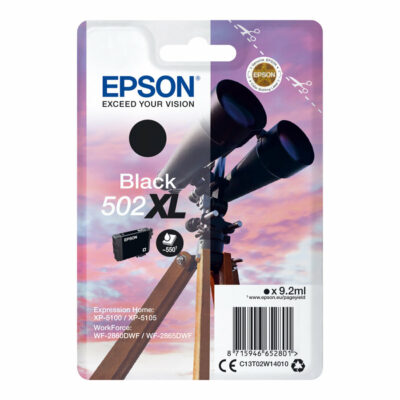 Epson 502XL Black Original Blækpatron Epson Expression Home XP 5100 | InkNu