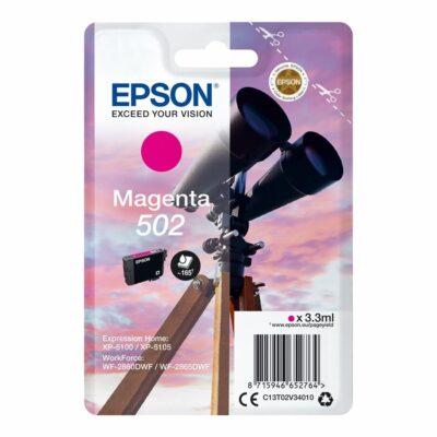 Epson 502 Magenta Standard Original Blækpatron Epson Expression Home XP 5100 | InkNu