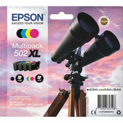 Epson 502XL Multipack 4-Farver Original Epson Expression Home XP 5100 | InkNu