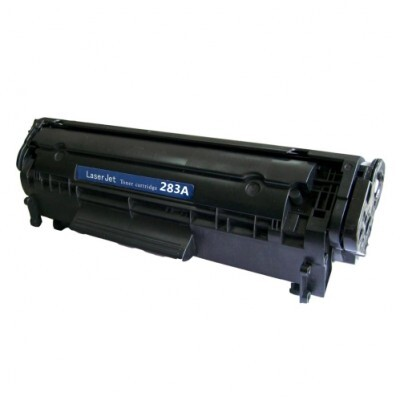 HP CF283A / 83A Black Kompatibel Toner – 1.500 Sider HP LaserJet Pro M 201   InkNu