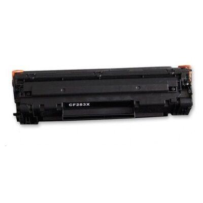 HP CE283X / 83X Black Kompatibel Højkapacitet Toner – 2.500 sider HP LaserJet Pro M 201   InkNu