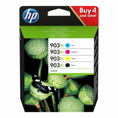 HP 903XL 4-Pack Original Blæk C/M/Y/K HP OfficeJet 6950 | InkNu
