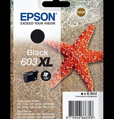 Epson Singlepack Black 603XL Ink Epson Expression Home XP-2100 | InkNu