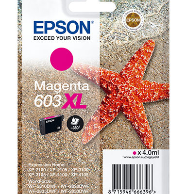 Epson Singlepack Magenta 603XL Ink Epson Expression Home XP-2100 | InkNu