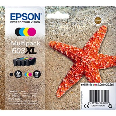 Epson 603XL Multipack 4-Colours Original Epson Expression Home XP-2100 | InkNu