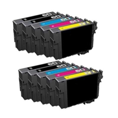 Epson 18XL Multipack 10 stk. Kompatibel (4xSort / 2xC / 2xM / 2xY) – 124ml Epson Expression Home XP 102 | InkNu