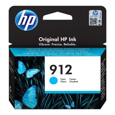 HP 912 Cyan Original Blækpatron Smartphone Tilbehør | InkNu