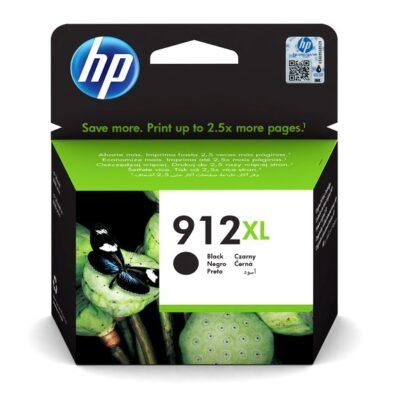 HP 912XL Black Original Blækpatron Smartphone Tilbehør | InkNu