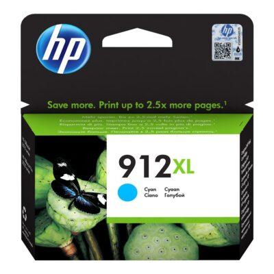 HP 912XL Cyan Original Blækpatron Smartphone Tilbehør | InkNu