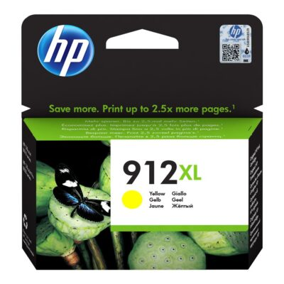 HP 912XL Yellow Original Blækpatron Smartphone Tilbehør | InkNu
