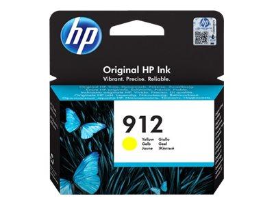 HP 912 Yellow Original Blækpatron Smartphone Tilbehør | InkNu
