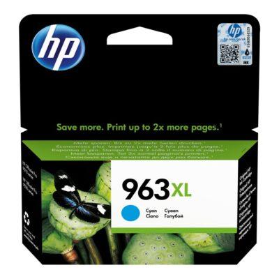 HP 963XL High Yield Cyan Blækpatron Smartphone Tilbehør | InkNu