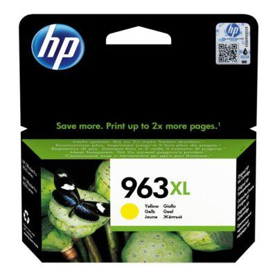 HP 963XL High Yield Yellow Blækpatron Smartphone Tilbehør | InkNu