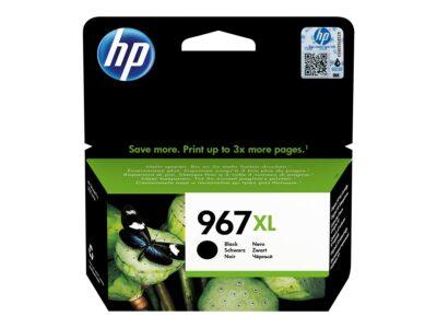 HP 967XL Extra High Yield Black Blækpatron Smartphone Tilbehør   InkNu
