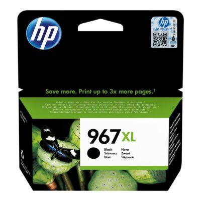 HP 967XL Extra High Yield Black Blækpatron Smartphone Tilbehør | InkNu