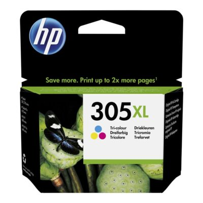 HP 305XL Farve (Cyan, Magenta, Gul) 200 sider HP DeskJet 2710 All-in-One   InkNu