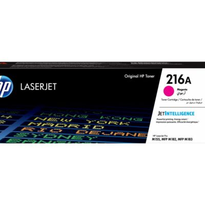 HP 216A Magenta Original Toner HP Color LaserJet Pro MFP M182   InkNu