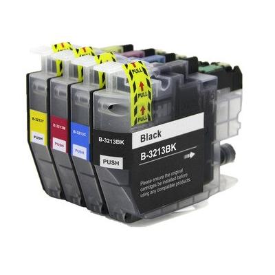 Brother LC3213 Kompatibel 4 stk. Patronpakke Brother DCP-J 772 | InkNu