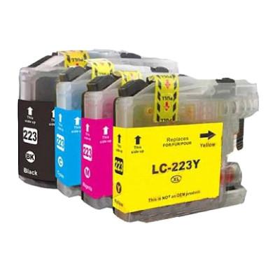 Brother LC 223 XL Kompatibel Patronpakke 4 stk – 50ml. Brother DCP-J 4120 | InkNu