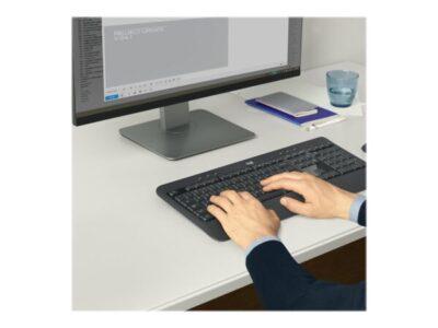 Logitech MK540 Advanced Tastatur og Mus – Trådløs Nordisk Tastaturer | InkNu 3