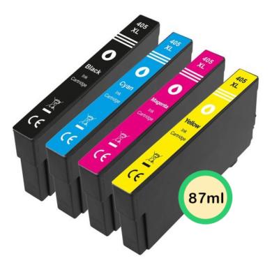 Epson 405XL Multipack 4-Farver Kompatibel Pakke 87ml Epson WorkForce Pro WF-3820DWF | InkNu