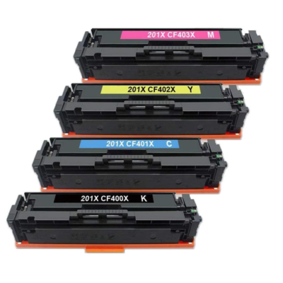 HP 201X Yellow Kompatibel Toner HP Color LaserJet Pro M 252 | InkNu