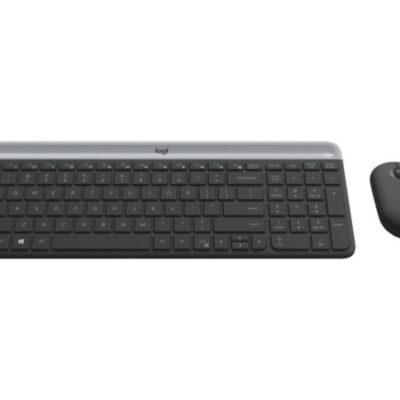 Logitech Slim Wireless Combo MK470 Tastatur og Mus – Trådløs Tastaturer | InkNu 2