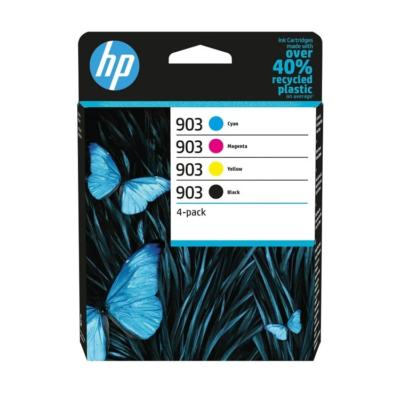 HP 903 4-Pack Original Blæk C/M/Y/K HP OfficeJet 6950 | InkNu