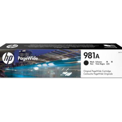 HP 981X Sort Original Blækpatron – 11.000 Sider HP PageWide Color 556 | InkNu 2