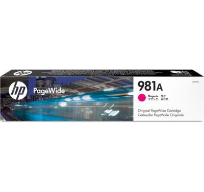 HP 981A Magenta Original Blækpatron – 6.000 Sider HP PageWide Color 556 | InkNu