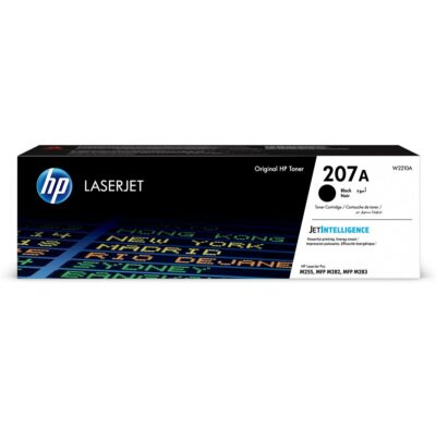 HP 207A Black Original LaserJet Toner 1.350 Sider HP Color LaserJet Pro M255dw | InkNu