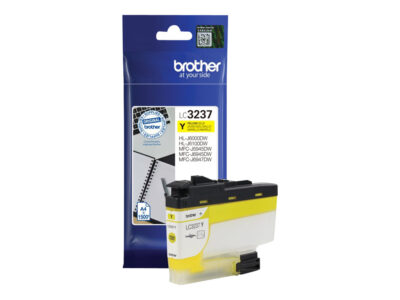 Brother LC3237Y Yellow Original Blækpatron 1.500 Sider Smartphone Tilbehør | InkNu
