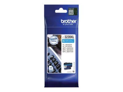 Brother LC3239XLC Cyan Original Blækpatron 5.000 Sider Smartphone Tilbehør   InkNu