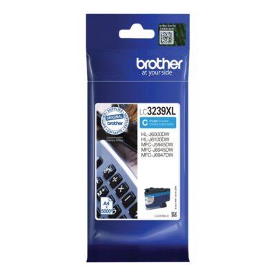 Brother LC3239XLC Cyan Original Blækpatron 5.000 Sider Smartphone Tilbehør | InkNu