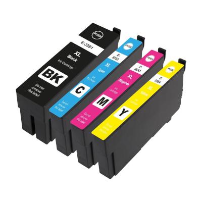Epson 35XL Kompatibel 4-Farver Patronpakke – 125ml Epson WorkForce Pro WF-4720DWF | InkNu