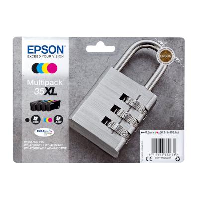Epson 35XL Original Multipack Epson WorkForce Pro WF-4720DWF | InkNu