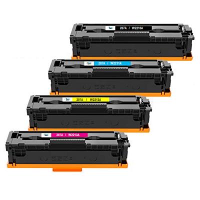 HP 207A Cyan Kompatibel Toner – 1.250 HP Color LaserJet Pro M255dw | InkNu