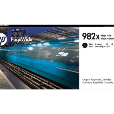 HP 982X Black Original Blækpatron 20.000 Sider HP PageWide Enterprise Color 765 | InkNu 2
