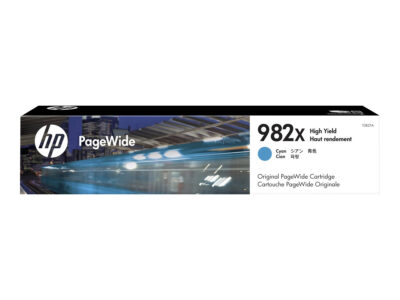 HP 982X Cyan Original Blækpatron 16.000 Sider HP PageWide Enterprise Color 765 | InkNu