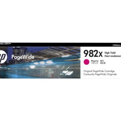 HP 982X Magenta Original Blækpatron 16.000 Sider HP PageWide Enterprise Color 765 | InkNu 2