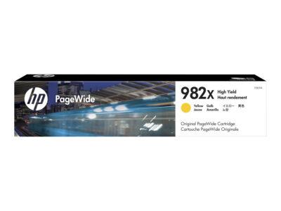 HP 982X Yellow Original Blækpatron 16.000 Sider HP PageWide Enterprise Color 765 | InkNu