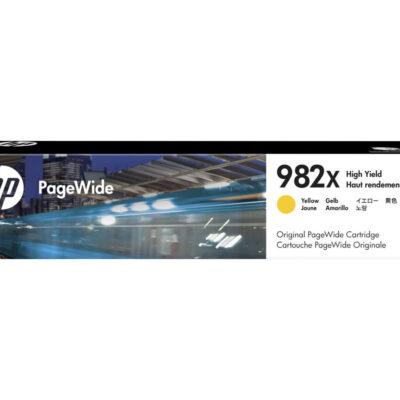 HP 982X Yellow Original Blækpatron 16.000 Sider HP PageWide Enterprise Color 765 | InkNu 2